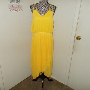 Lane Bryant Sleeveless Yellow Dress Size 20